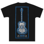 House of Blues Star Guitar T-Shirt - Houston