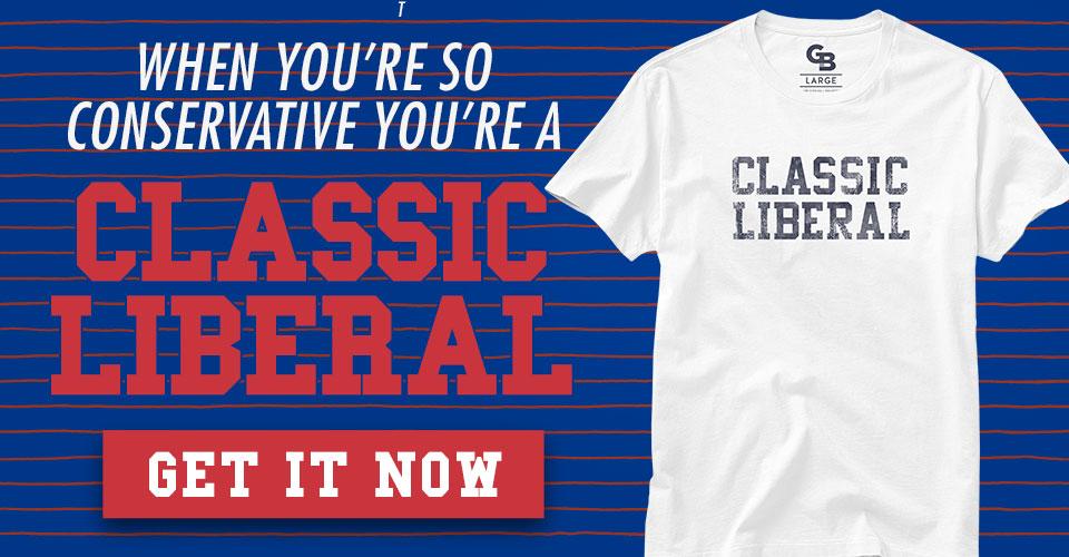 Glenn Beck Classic Liberal T-Shirt