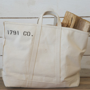 1791 Natural Canvas Tote