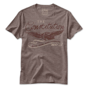 1791 The Constitution Both Now and Forever T-Shirt