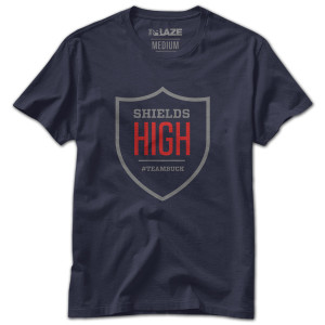 Team Buck Shields High T-Shirt