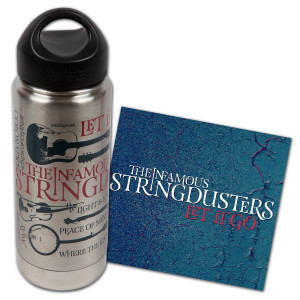 The Stringdusters - Let It Go CD + Bottle Bundle