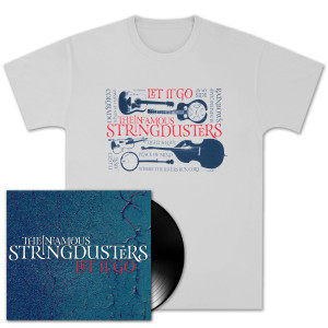 The Stringdusters - Let it Go Vinyl + T-Shirt