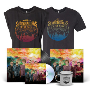 Rise Sun Signed Album Art + Tee Bundle