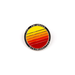 Sunset Pin