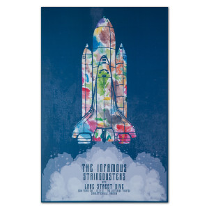 The Stringdusters - NYE 2012 Tour Poster
