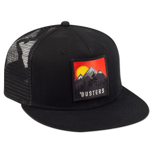 Dusters Black Trucker Hat