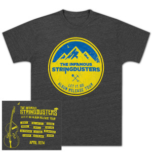 The Stringdusters - April 2014 Tour T-Shirt