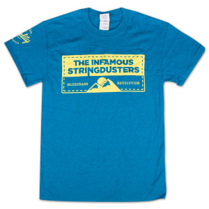 "The Stringdusters - ""Premium Quality Guaranteed"" T-Shirt"