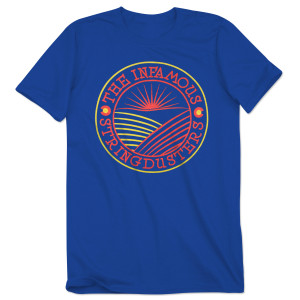 The Infamous Stringdusters Blue Sunset Tee