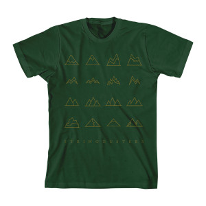 Infamous Stringdusters – Mountain Topography T-Shirt