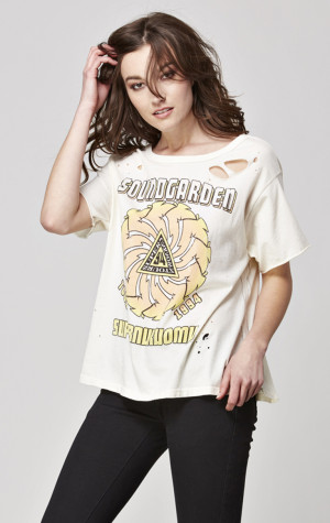Soundgarden Destroyed Short Sleeve Boxy Tee