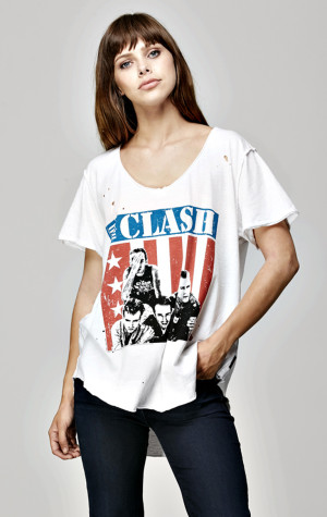 The Clash Destroyed Tee