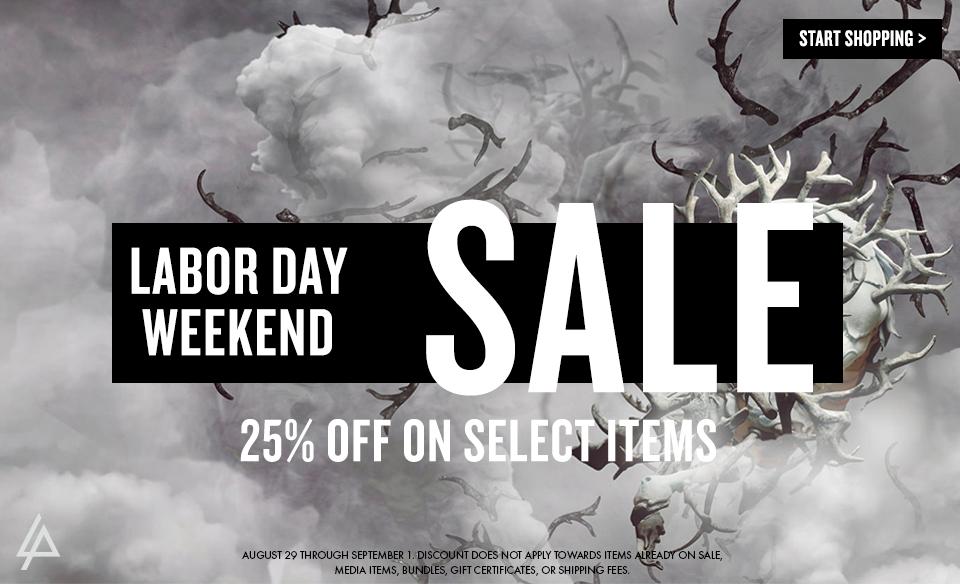 Linkin Park Labor Day Sale 2014