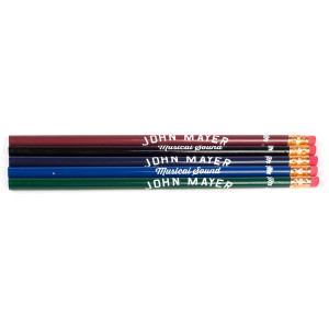 John Mayer Musical Sound Pencil (5-Pack)