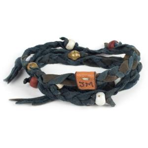 Kipoto Bracelet in Indigo by Dacine