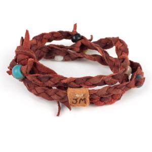 Kipoto Bracelet in Cochineal by Dacine