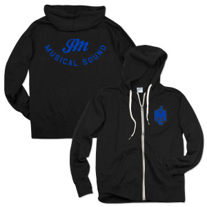 JCM French Terry Hoodie - Blue Logo