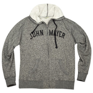 John Mayer Heather Black Hoodie