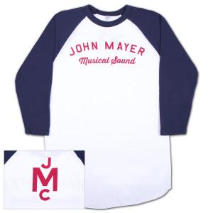 John Mayer Musical Sound Raglan