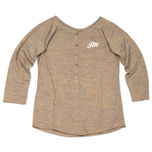 JM Embroidered Women's Henley