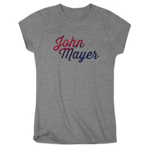 John Mayer Midtown Music Festival Ladies Event Tee