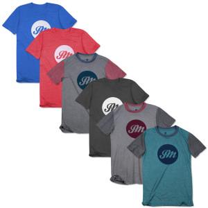 Circle JM Script T-Shirt