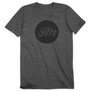 Circle JM Script T-Shirt (Solid)