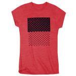 Girls JM Script Pattern T-Shirt