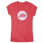 Womens Circle JM Script T-Shirt