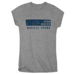 John Mayer Womens Musical Sound Athletic T-Shirt