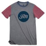 Circle JM Script T-Shirt (Color Block)