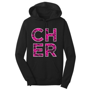 Cher Girls Lace Overly Pullover Hoodie