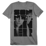 Sonny & Cher- Mod Block Type T-Shirt