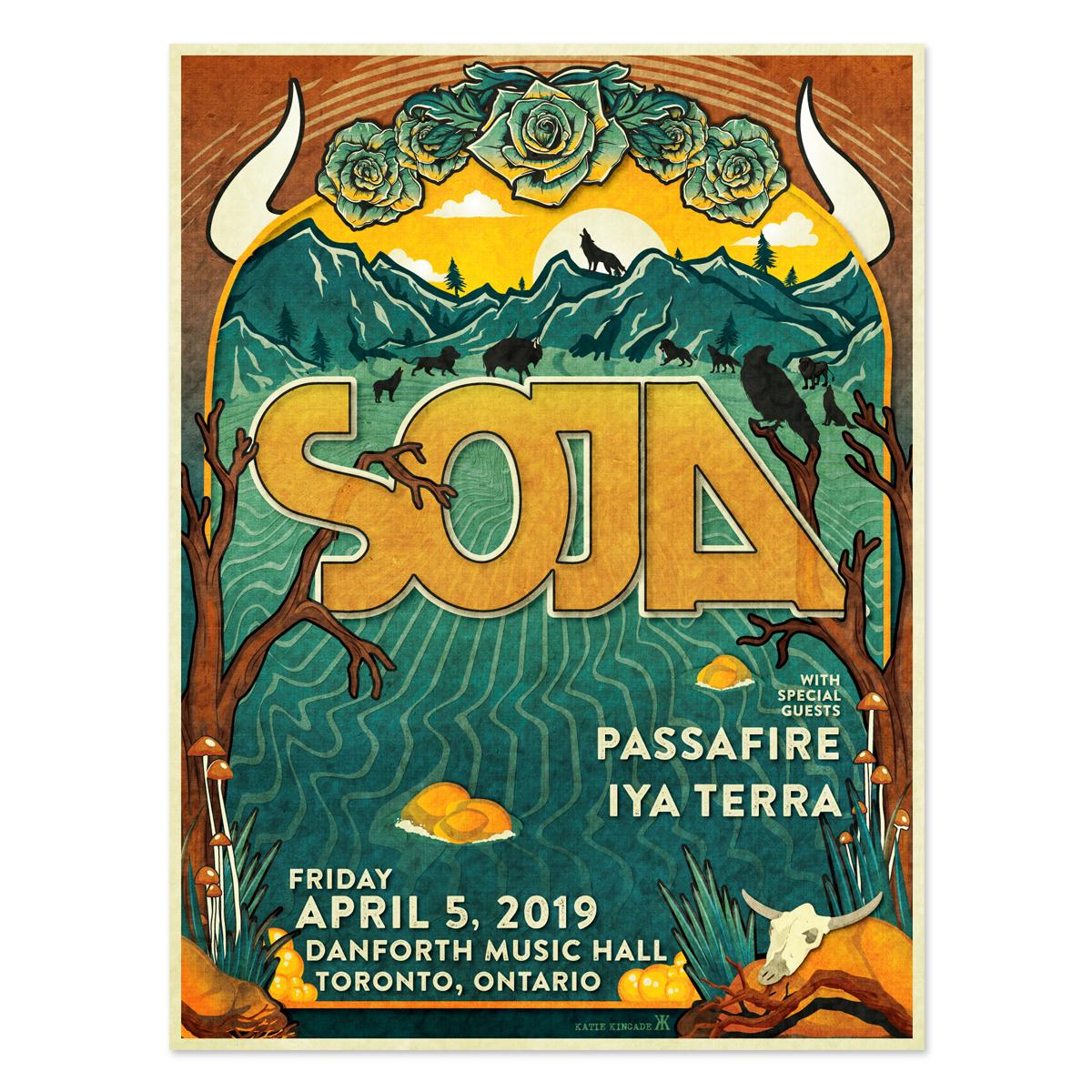 April 5 - Danforth Music Hall - Toronto, ON