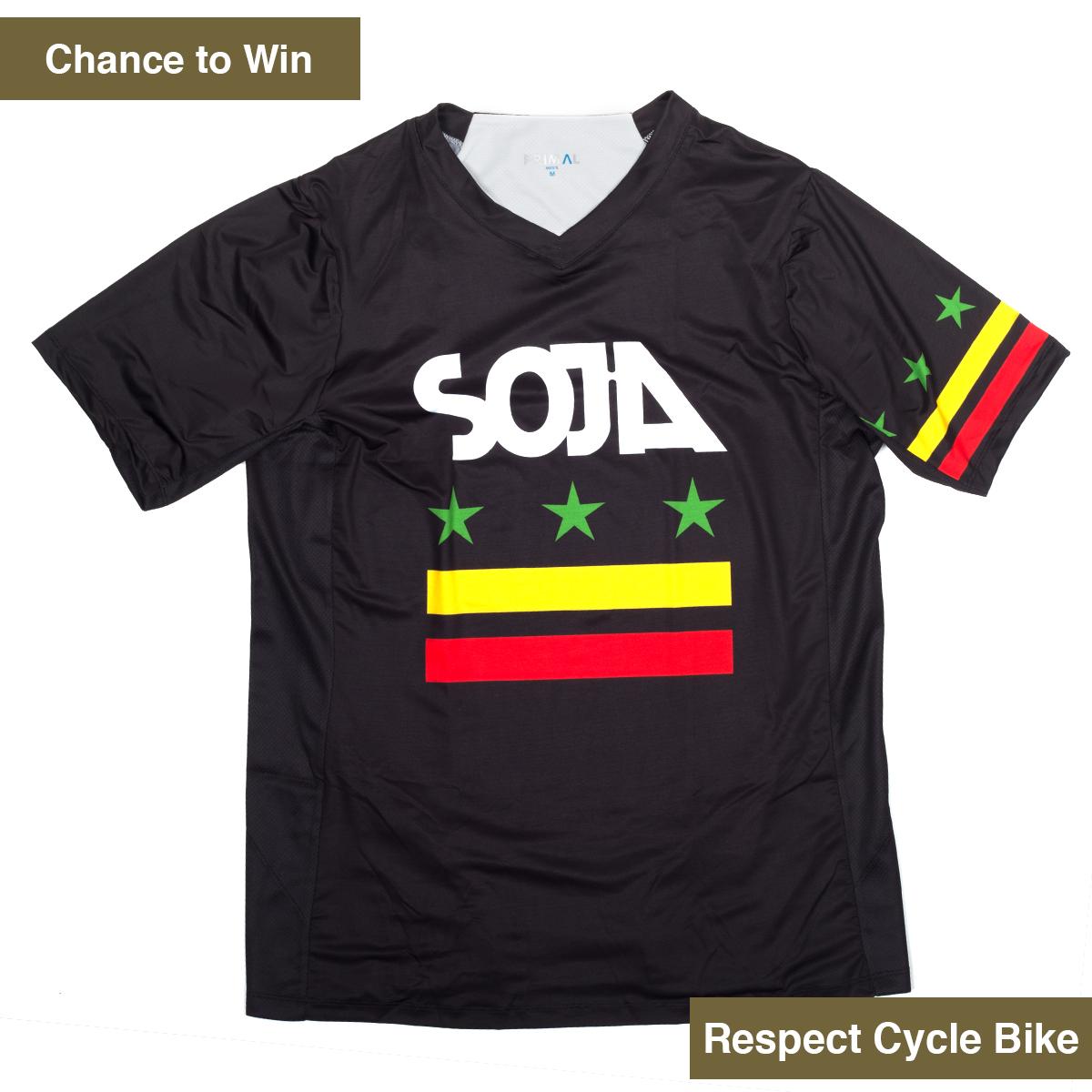 SOJA Primal MTB Downhill Cycling Jersey (Unisex)