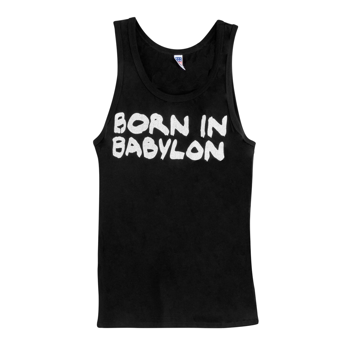 Men's Born In Babylon Tank - Black