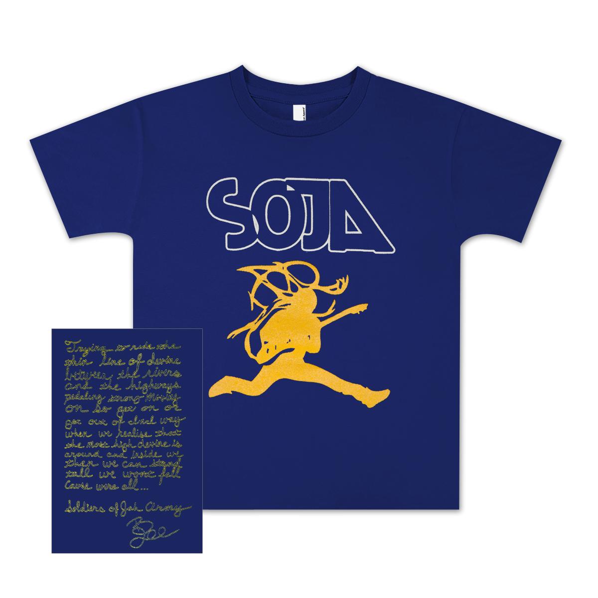 SOJA - Bobby Lee Jumpman Kids T-Shirt