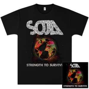 SOJA - Strength to Survive Album + T-Shirt Bundle