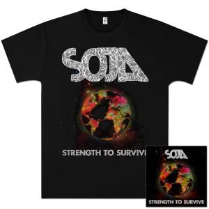 SOJA - Strength to Survive Album + T-Shirt Bundle