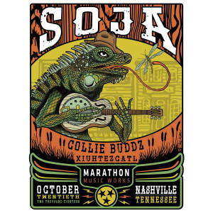 10/20/18 Marathon Music Works / Nashville, TN  Poster