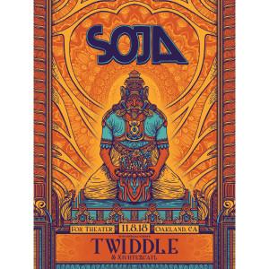 11/8/18 Fox Theater / Oakland, CA  Poster