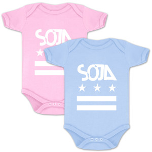 SOJA - Stars and Bars Onesie