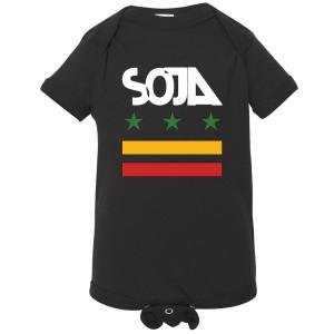 SOJA Stars and Bars Onesie