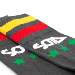 SOJA - Black Stars & Bars Socks