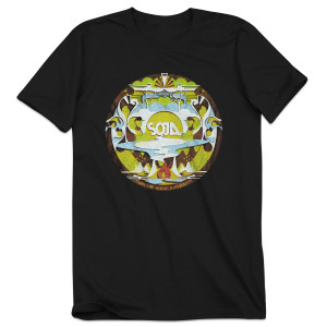 SOJA - Black Amid Album Cover Tee