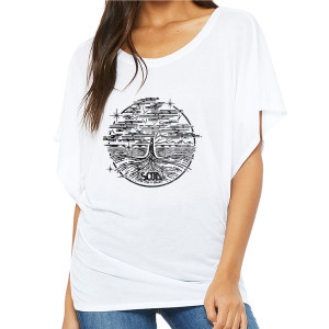 SOJA VA Tree - Flowy White Female Top