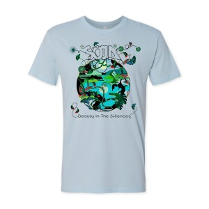 SOJA -- Beauty In The Silence Limited Ed. T-Shirt Blue