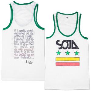 SOJA - Stars & Bars Ladies Cut Tank