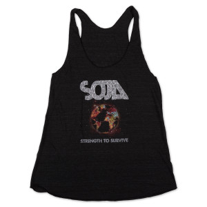 SOJA - Strength to Survive Ladies' Cut Tank